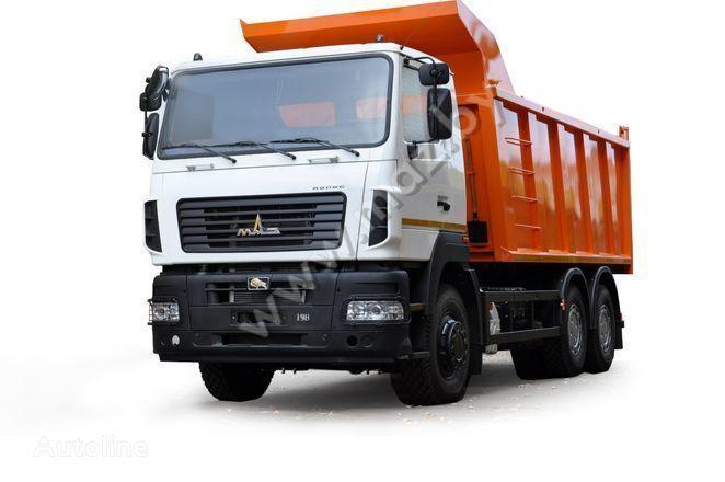 new MAZ 6501B9-420-000 dump truck