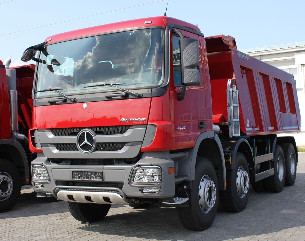 new MERCEDES-BENZ Actros 4141 K dump truck
