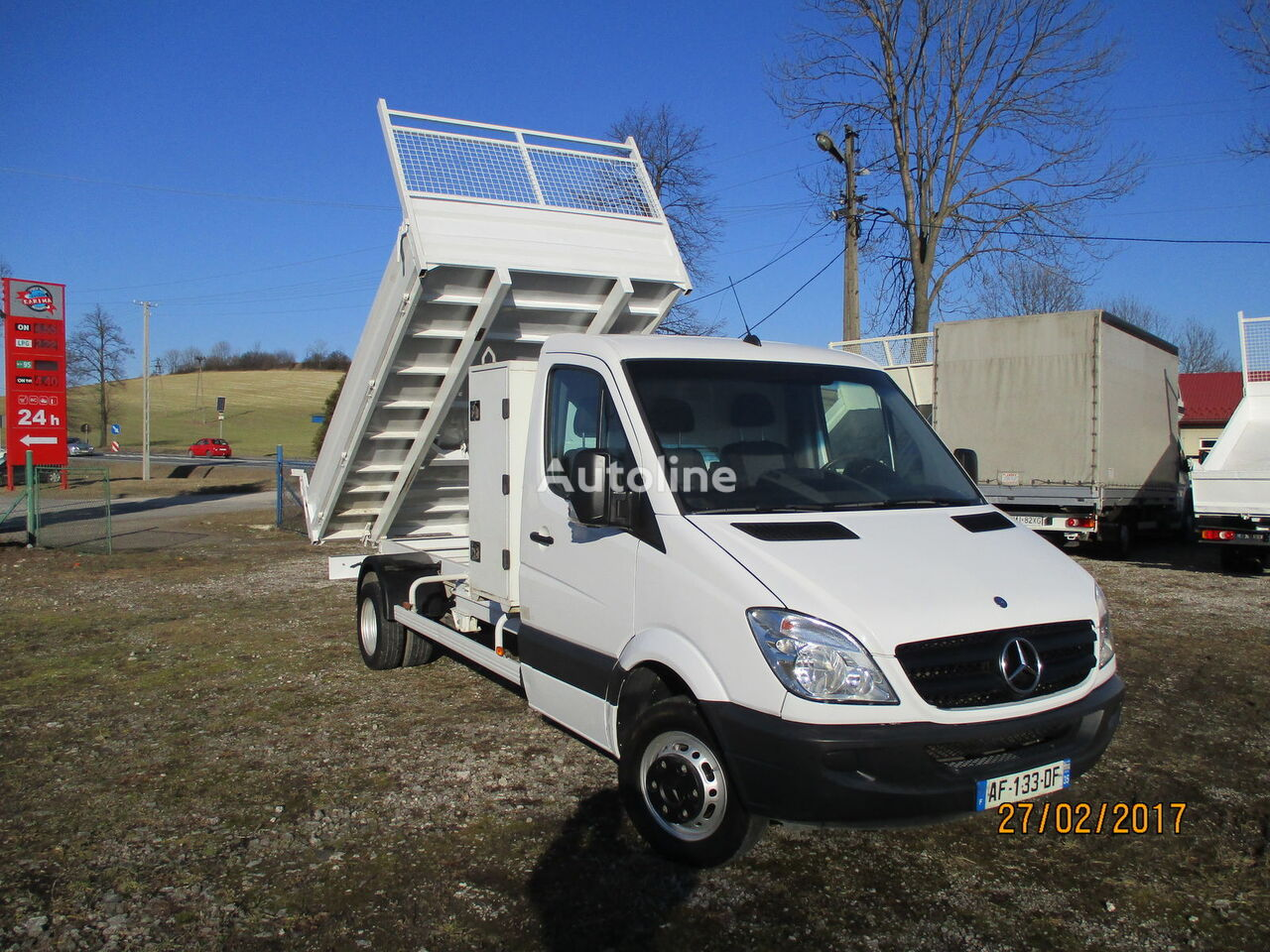 Autoline used sprinter autos post for Mercedes benz pickup truck for sale