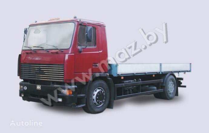 new MAZ 5340 flatbed truck