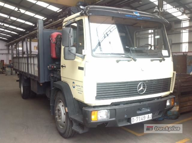 MERCEDES-BENZ 1320 CYTILINER flatbed truck