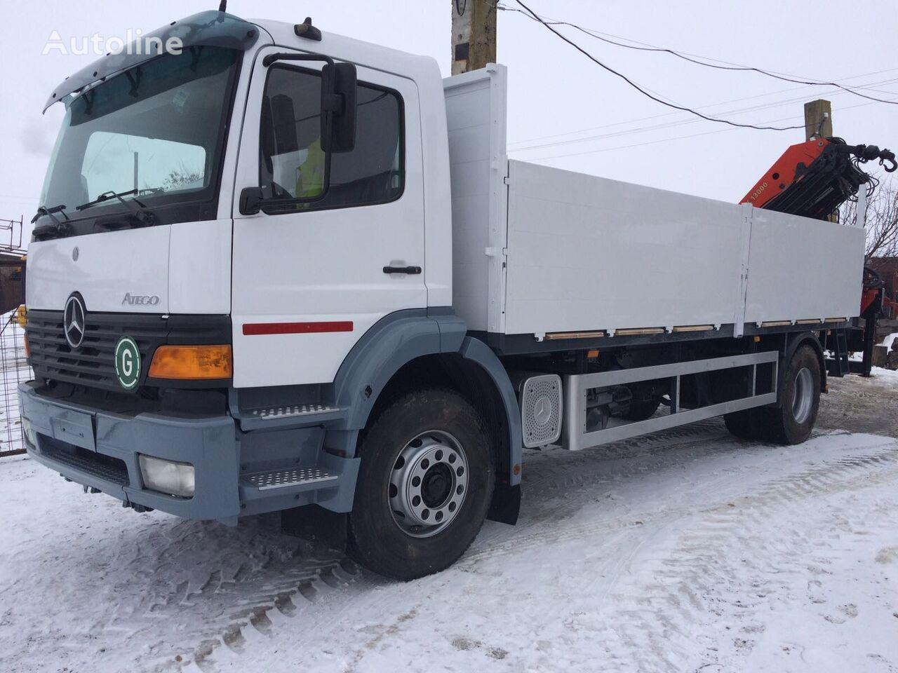 MERCEDES-BENZ ATEGO 1828 Palfinger PK 13000 flatbed truck