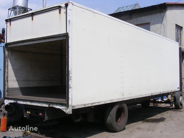 prachotěsná nástavba MONTEX flatbed truck