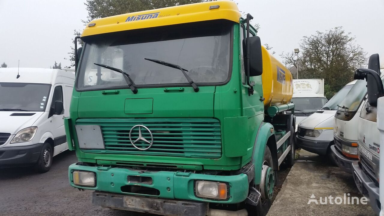 Mercedes benz 1628 fuel trucks for sale from belgium buy for Mercedes benz belgium