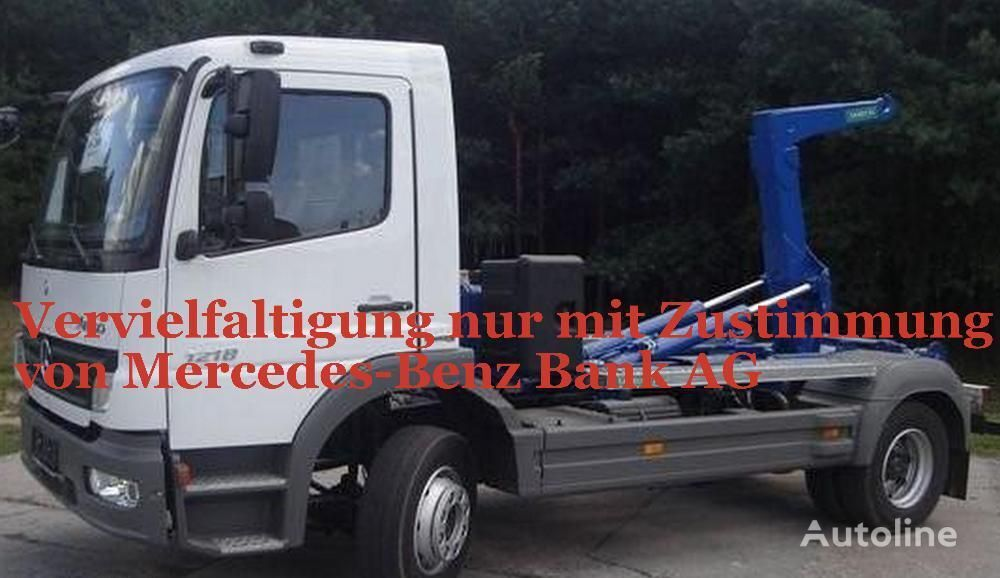 MERCEDES-BENZ Atego 1218  hook lift
