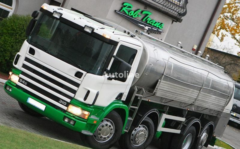 SCANIA 94G 310 CYSTERNA DO MLEKA milk tanker