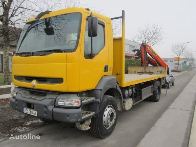 RENAULT KERAX 340 PALFINGER PK - 12080 platform truck