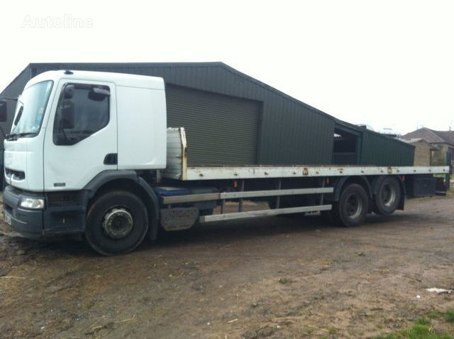 RENAULT PREMIUM 320 DCI platform truck