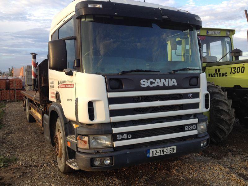SCANIA 94D platform truck