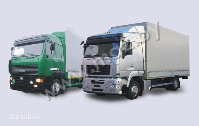 MAZ 5340 (19, E9) tilt truck