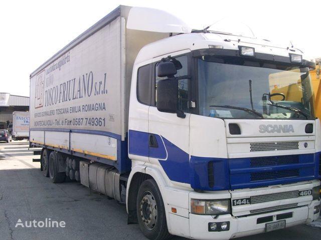 SCANIA 144L460 tilt truck