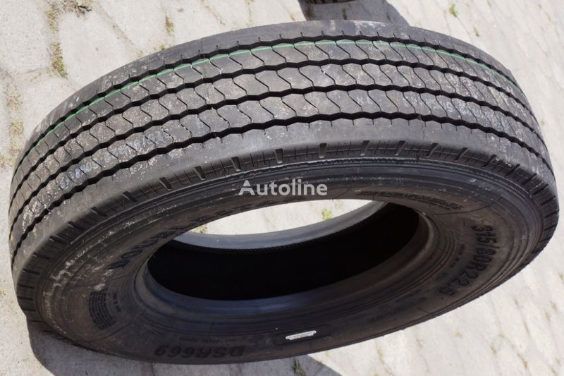 new Doublestar FRONT STZ / EU CERTIFY / EXPORT / 0,00 VAT 315/80 R 22.50 truck tyre