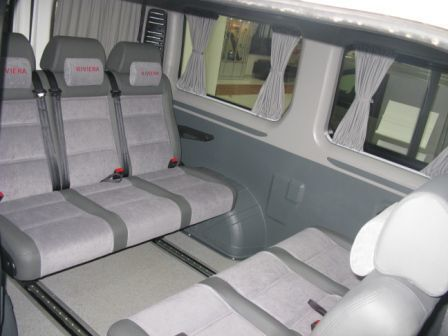 new PEUGEOT Boxer Tour Transformer minivan