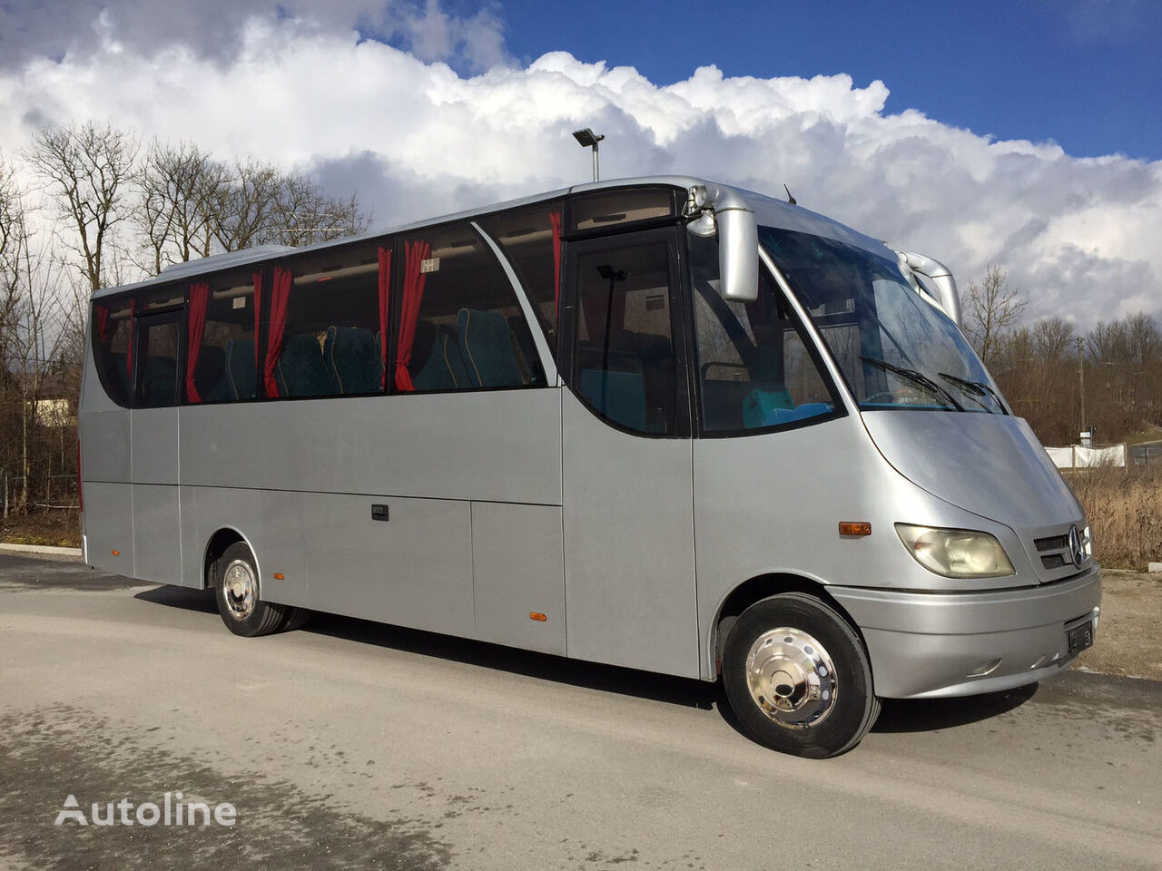Mercedes benz o 818 s jbi passenger vans for sale from for Mercedes benz big van