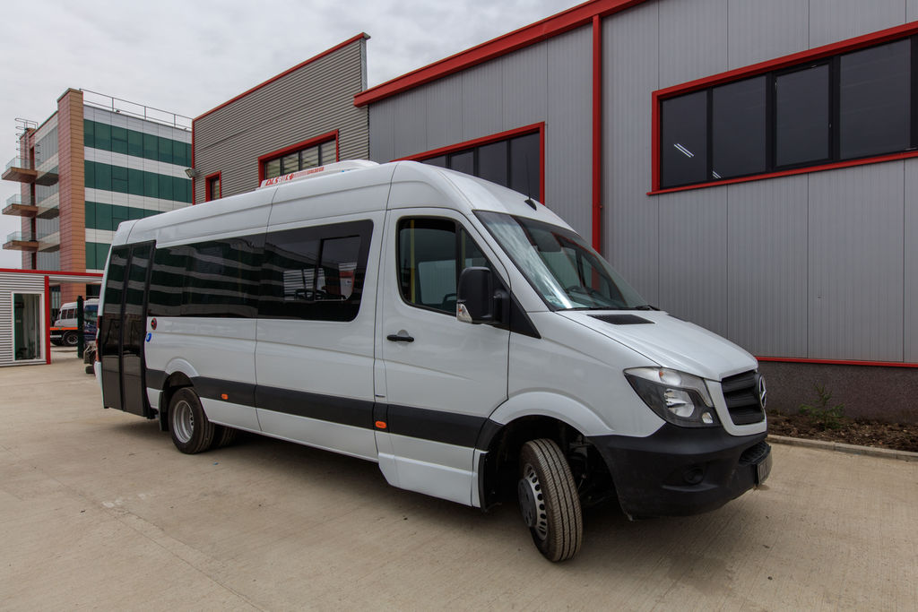 Mercedes benz sprinter city passenger vans for sale from for Mercedes benz sprinter passenger