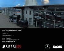 Stock site Riess GmbH & Co. KG Mercedes-Benz und DAF Vertragspartner