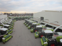 Stock site   CLAAS Vertriebsgesellschaft mbH  FIRST CLAAS USED Center
