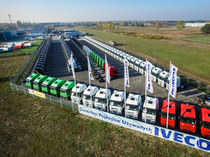 Stock site Iveco Poland Sp. z o. o. Used Truck Center