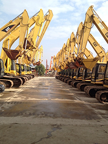 Stock site Long Qi heavy industry machinery Co,.Ltd