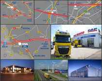 Stock site ESA Trucks Polska Sp. z o.o.
