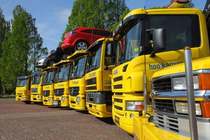 Stock site Berging & Autotransport Hooikammer