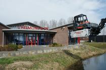 Stock site J.Helmond Forklifts BV