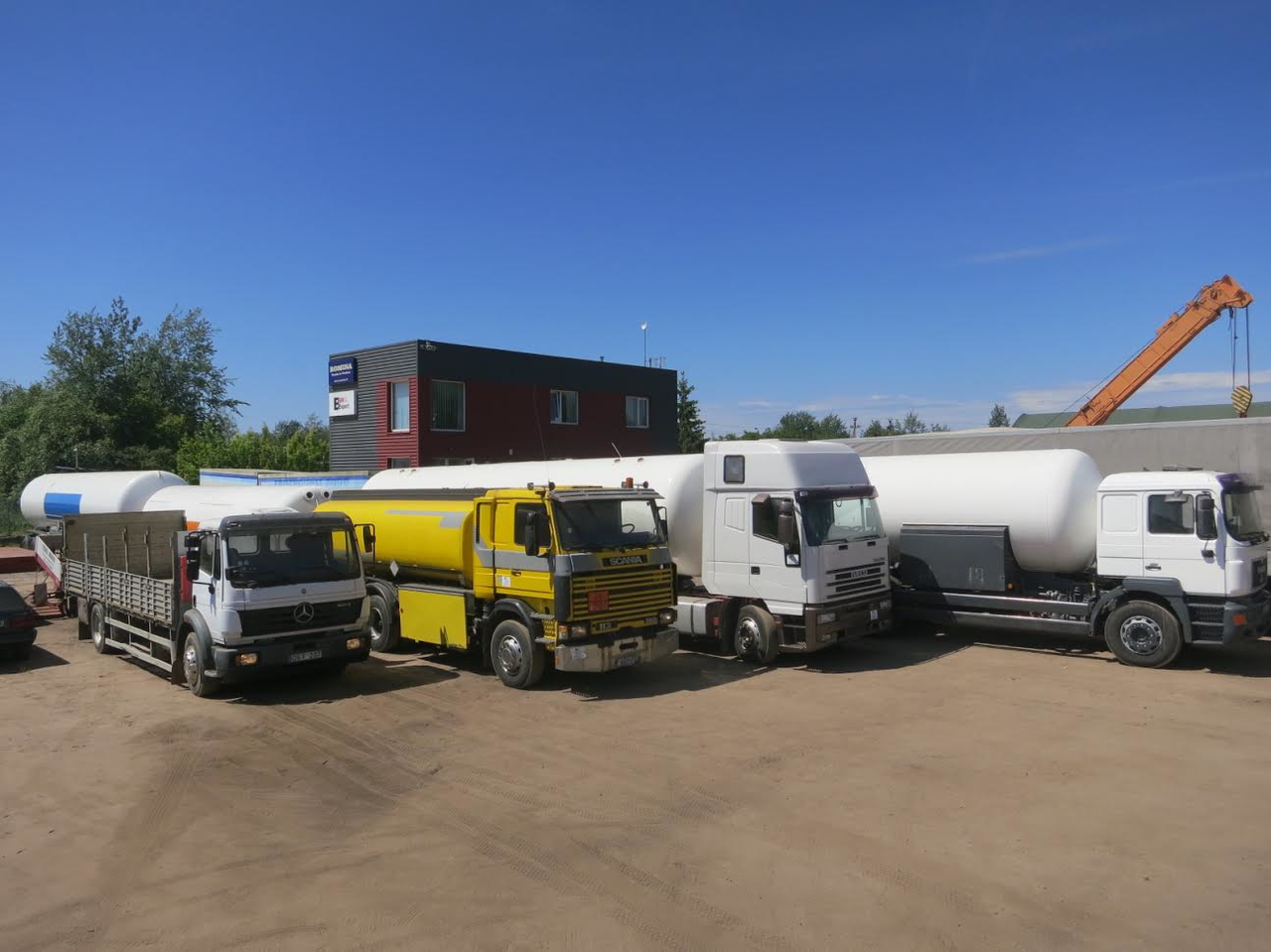 Official sites and dealers of trucks and special machinery: a selection of sites