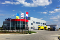 Stock site DAF Truck Centre Lviv