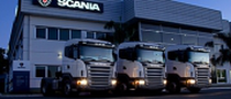 Stock site Scania Polska S.A.