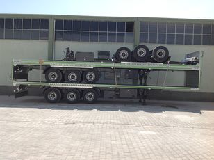 New LIDER 2020 YEAR NEW 40' 20' 30' container transport trailer manufactur