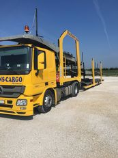 MERCEDES-BENZ Actros 1841 + car transporter semi-trailer