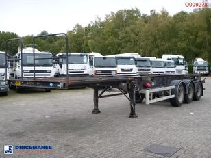 Overlander 3-axle container trailer 10-20-30 ft