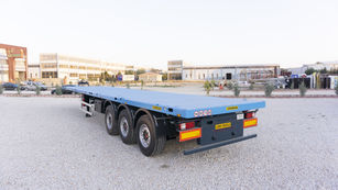 New EMIRSAN 12 locks Flatbed Trailer | Container Carrier Semi Trailer 2020