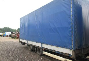 KRONE CPKKO4, dropside with tarpaulin