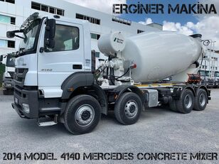 Stetter  on chassis MERCEDES-BENZ AXOR MODEL 7 PİECE 4140 MİXER