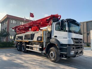 Putzmeister BSF 38-5.16H on chassis MERCEDES-BENZ AXOR 3340