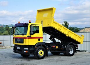 MAN TGM 15.240 Kipper 4,40 m+Bordmatic*Topzustand!