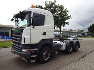 SCANIA R420 6X4 EURO 4 - STEEL SUSPENSION - MANUAL - HUB REDUCTION