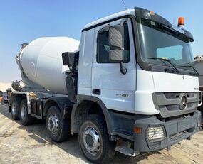 Stetter  on chassis MERCEDES-BENZ Actros 4140