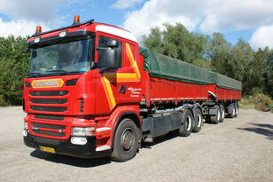 SCANIA R560 + grain trailer