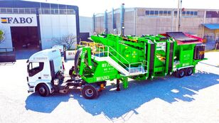New FABO ME 1645 SERIES MOBILE SAND SCREENING PLANT