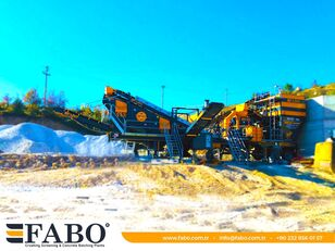 New FABO MVSI 900 MOBILE VERTICAL SHAFT IMPACT CRUSHING SCREENING PLANT