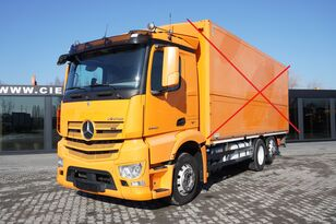 MERCEDES-BENZ Antos 2540, E6, 6x2, chassis 6.9m, steer / lift axle , etarder