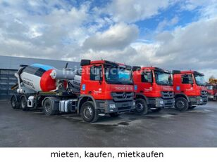 MERCEDES-BENZ 1844LS + concrete mixer semi-trailer