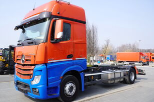 MERCEDES-BENZ ACTROS 1842, E6, 4x2, chassis 7m, BDF, GigaSpace