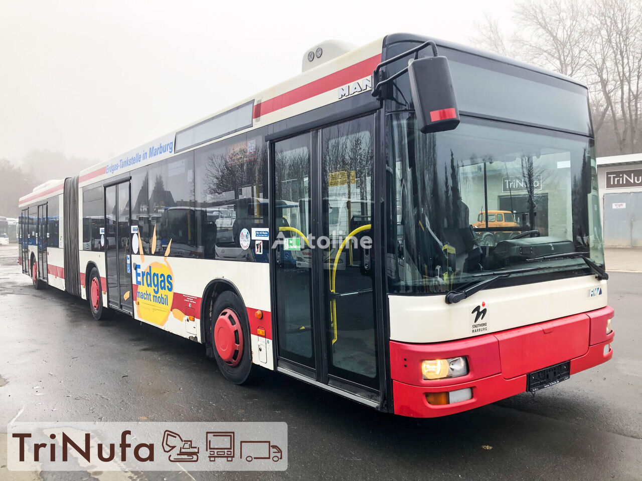 MAN A 23 | Klima | Retarder | 4 Türen | articulated bus