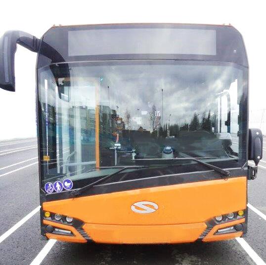 SOLARIS U 18, Klima, Euro 6, 2017 articulated bus