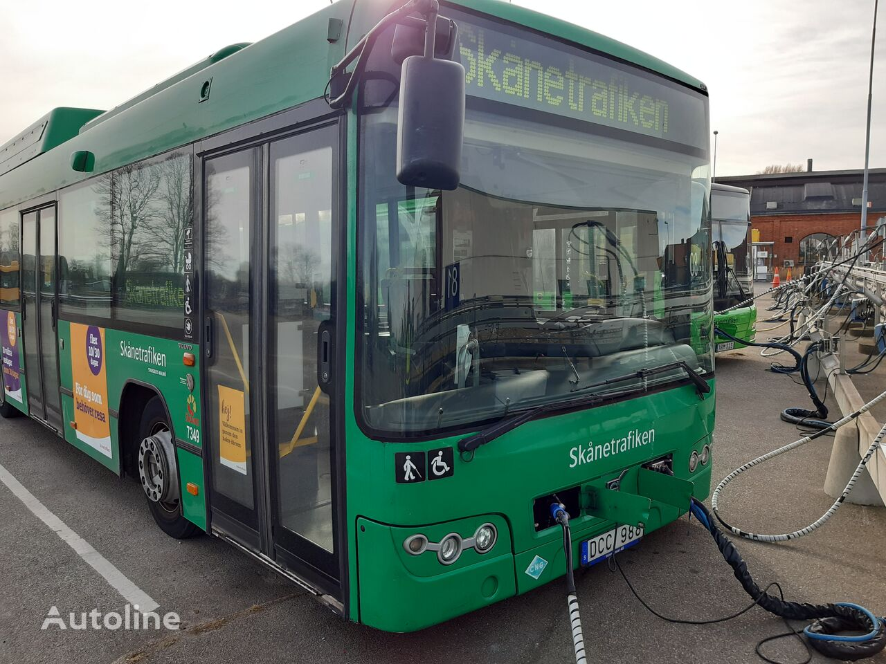 VOLVO B9LA CNG  7700A articulated bus
