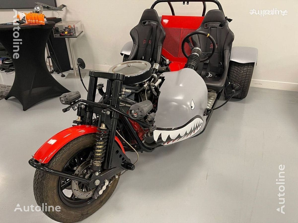 FORD zelf-bouw 3 wheel motorcycle