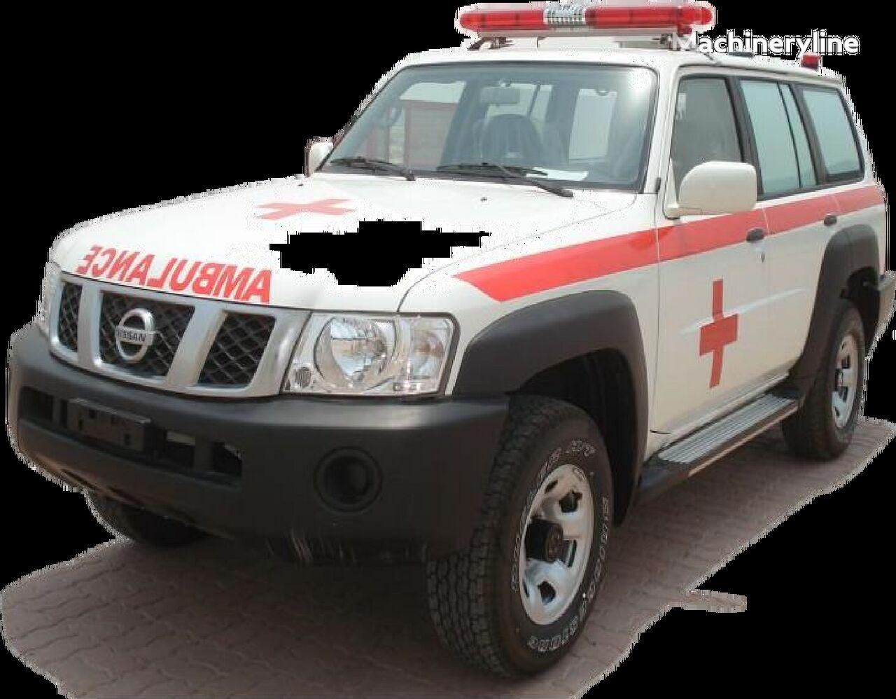 new NISSAN Patrol 4.0 XE AT Petrol ambulance
